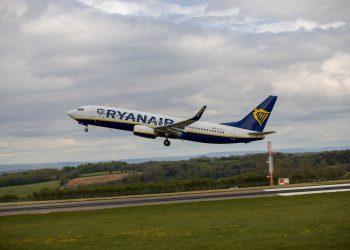 מטוס של חברת RyanAir